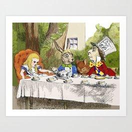 "Lewis Carroll, "" Alice's Adventures in Wonderland "" Art Print"