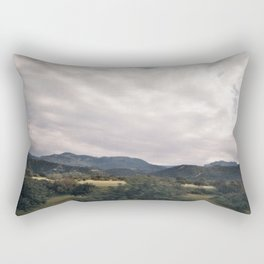 Cypress mountains and forests Rectangular Pillow