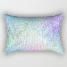 Glizy Glam Pastel Diamond Sparkle Rectangular Pillow