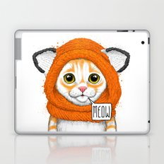 kitten in fox cap Laptop & iPad Skin