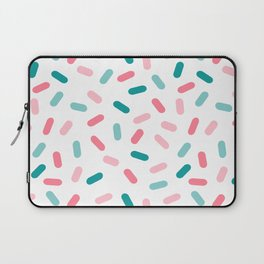 Head Rush - memphis throwback hipster style dot pill 1980s neon pastel palm springs socal surfer Laptop Sleeve