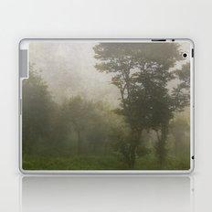 A foggy day in Dharamsala, India Laptop & iPad Skin