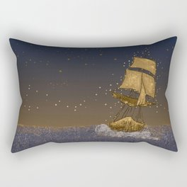 Enchanted Ship Rectangular Pillow