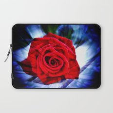 Rose And Piano Love Song By Annie Zeno  Laptop Sleeve