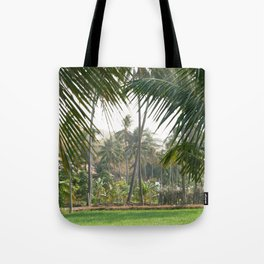Exotic Palm Trees Tote Bag