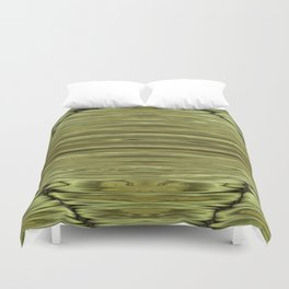 Abstraction Serenity in Pinewood Duvet Cover