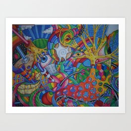 7734 Art Print