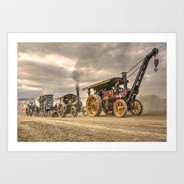 Traction Power Art Print