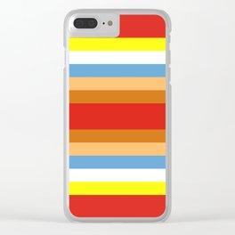 TWEEDLE DEE TWEEDLE DUM Clear iPhone Case