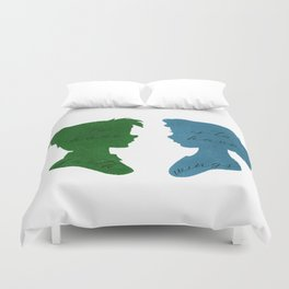 Faith Gives You Wings Duvet Cover