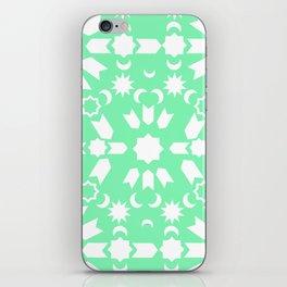 Peppermint Arabesque iPhone Skin