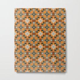 Cela #pattern Metal Print