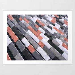 Repeating Tiles Art Print