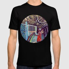 Psychoactive Bear 4 Mens Fitted Tee SMALL Black