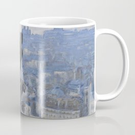 "Étienne Moreau-Nélaton ""Paris seen from the towers of the Notre-Dame cathedral"" Coffee Mug"