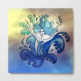 mermaid dance -2- Metal Print