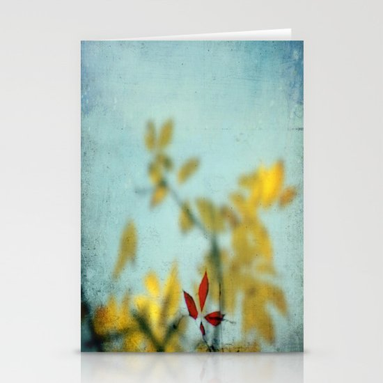 When Red meets Yellow Stationery Cards