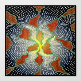 Modern Aboriginal 8 Canvas Print