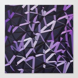 3D Futuristic GEO Lines VIX Canvas Print