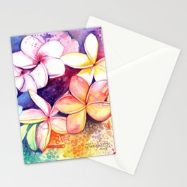 Plumeria Fun Stationery Cards