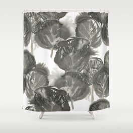 Ink forest Shower Curtain