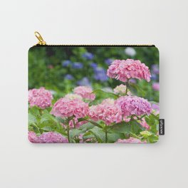 Pink & Lavender Flower Clusters Carry-All Pouch