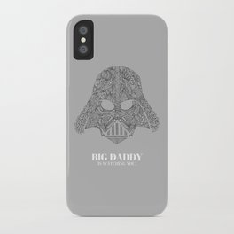 Darth Vader Illustration iPhone Case