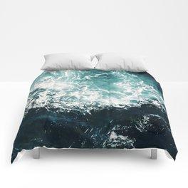 Sea waves II Comforters
