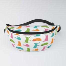 Cats-Multicolor Fanny Pack