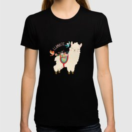 Llamaste - When A Llama Offers You A Respectful Greeting T-shirt