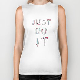 JUST DO IT Biker Tank