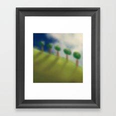 Brushed Nature Framed Art Print