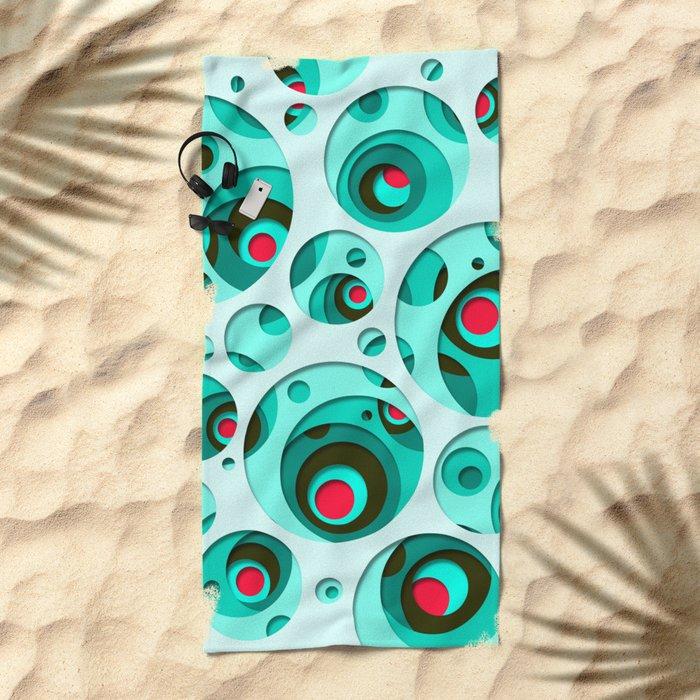 INTERAREA #10 Beach Towel