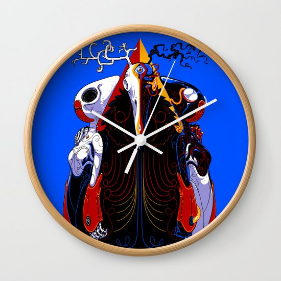 Overlord Wall Clock