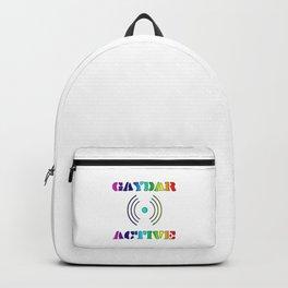 Gaydar Active LGBTQIA Backpack