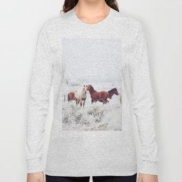 Winter Horseland Long Sleeve T-shirt