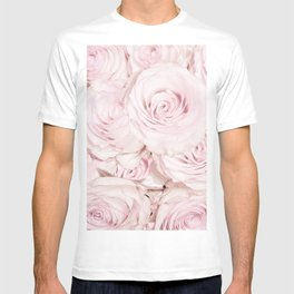 Roses have thorns - Floral Flower Pink Rose Flowers T-shirt
