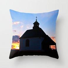 Chapel of love Throw Pillow