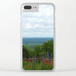 View from Monticello Clear iPhone Case