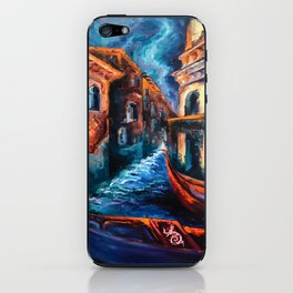 """""""Venice at Night"""" Painting iPhone Skin"""