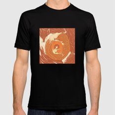 Foxes Mens Fitted Tee Black MEDIUM