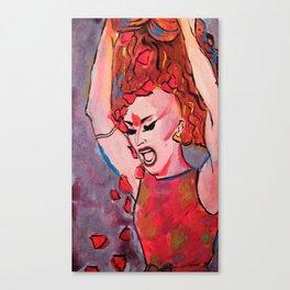 Sasha Velour So Emotional Canvas Print