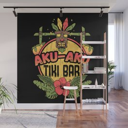 AKU-AKU TIKI BAR Wall Mural