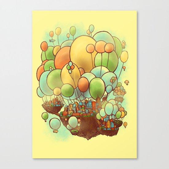 Cloud City Canvas Print