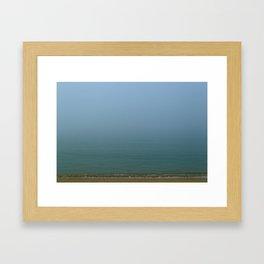 Misty Ocean Framed Art Print
