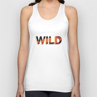 into the wild Tank Tops featuring wild by Lasse Egholm