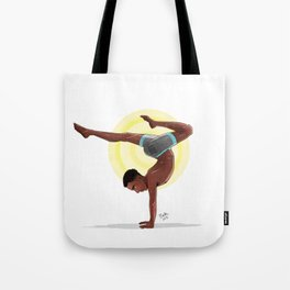 Charging Scorpion Pose Tote Bag