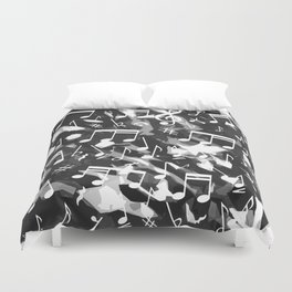 MUSIC NOTES  Duvet Cover