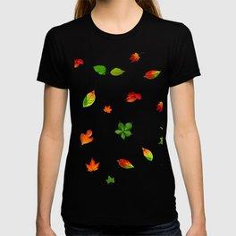 Colorul autumn leaves T-shirt