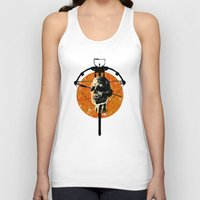 the walking dead Tank Tops featuring Dead Walking by Green'n'Black